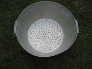 uraltes Alu-Sieb Küchensieb Seiher Aluminiumsieb