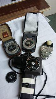 Belichtungsmesser 50er - 70er Jahre