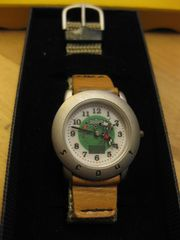 Scout -Armbanduhr für Kinder Fußballmotiv