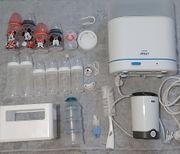 Flaschenwärmer Flaschen Schnuller Dampfsterilisator NEU