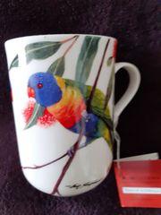 neue Sammler Tasse BIRDS OF