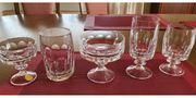 Vintage Bleikristall-Gläser von WMF