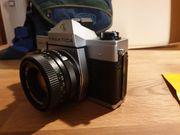 Spiegelreflexkamera Pentacon Praktica MTL5B mit
