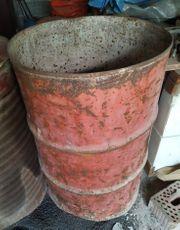 Feuertonne grosses Stahlfass Shabby Vintage
