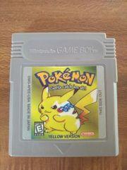 Pokemon - Gelbe Edition US-Version