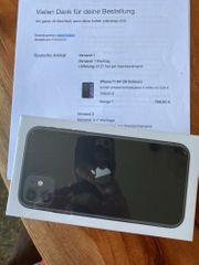 Neues IPhone 11 schwarz Originalverpackt