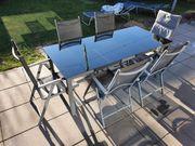 Gartentisch mit 8 Stühlen Gartenmöbel