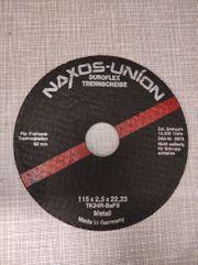 9x Duroflex-Schruppscheibe Naxos-Union Metall