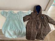 Baby Schlafsack und Winteroverall Gr