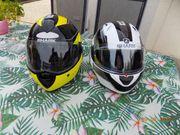 Verkaufe 2 Motorradhelme