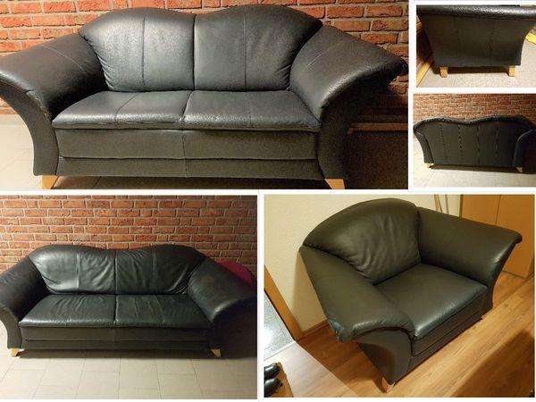 Sofa Garnitur 3-er 2-er Sessel - Machalke