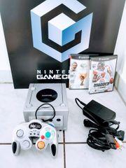 Nintendo Gamecube Konsole mit Spielen
