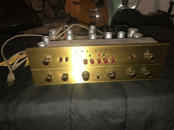The Fisher 400-CX Pre-Amplifier Preamp