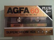 Cassette AGFA 60 Plus 6