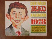 MAD Kalender 1978 - selten