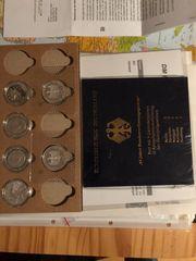 Gedenkmünzen und 5 DM 2DM
