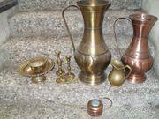 Div Messing und Kupferartikel