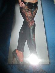 Leder Leggings NEU