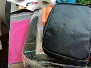 Diabetestaschen und Einband für Tagebuch