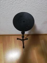 Kerzenständer Gusseisen schwarz 72 cm