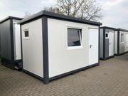 Bürocontainer Wohncontainer Gartenlaube WC Büro Toilette