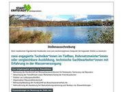 Techniker im Tiefbau Rohrnetzmeister m
