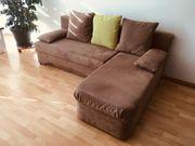 Couch mit Ottomane fast wie