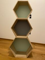 Bloominville Hexagon-Regale
