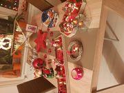 Schöne mehrteilige passende Weihnachts - Deko