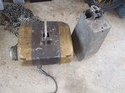 Kettenkran 2x 200kg lange Ketten