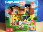 Playmobil Mitnehm-Puppenhaus 4145 und Etagenbett