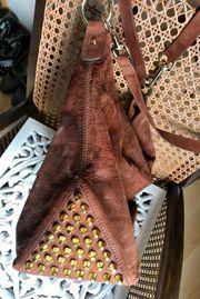 Luxus Tasche aus dickem Hirschleder