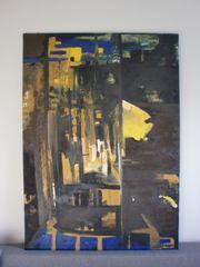 Großes Ölgemälde 100 x 140