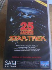 VHS Kassette 25 Jahre Star