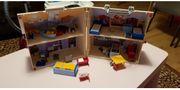 3 Spielzeuge PLAYMitnehm-Puppenhaus klein BOSCH