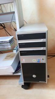 Medion PC mit neue Fernbedienung