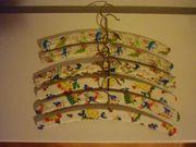 6 vintage Kinder Kleiderbügel Kinderbügel