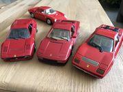4 Ferrari Modellautos 1 24