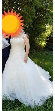 ivory Brautkleid 46 48