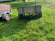Rasen Traktor Anhänger oder für