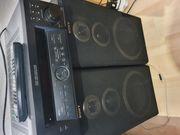 Sony Stereoanlage mit boxen