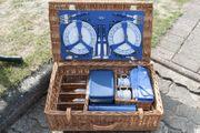Luxus-Picknickkorb unbenutzt sehr gute Qualität