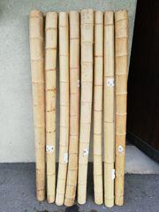 Bambusrohre und Bambusstäbe