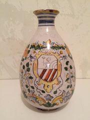 Alte Keramikvase A D 1628
