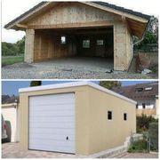 Suche eine Garage oder Scheune