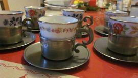 Sonstige Sammlungen - Teeservice Bareuther Porzellan u Frieling
