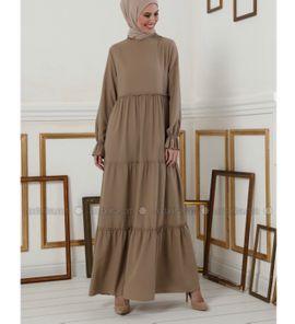 Damen lange Kleid