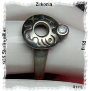 Ring 925 Silbr mit Zirkonia