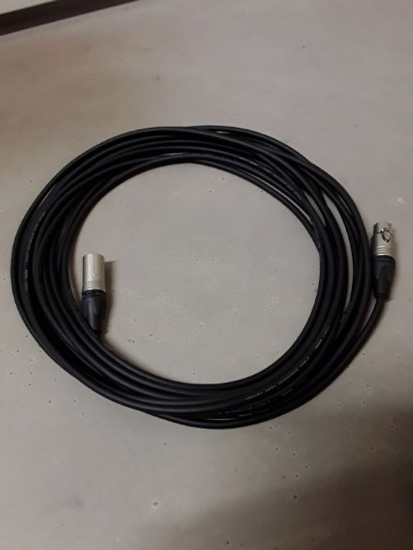 XLR-Kabel 10m high-end Qualität