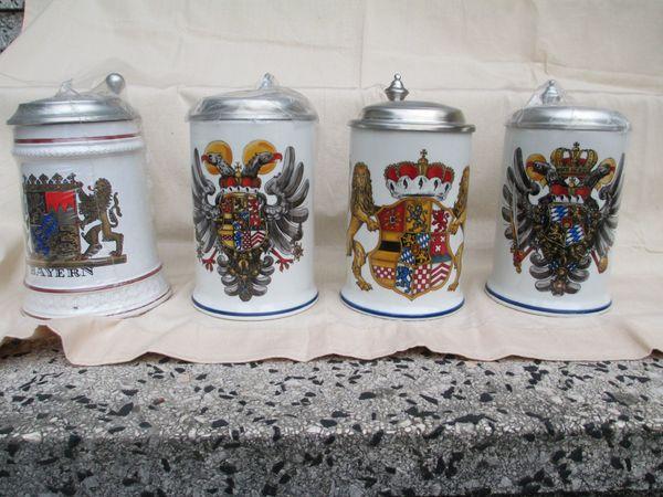 Bier Krüge Bierseidel
